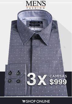 Camisas en #Oferta para renovar tu #Outfit y armario.
