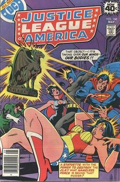 Cover for Justice League of America (DC, 1960 series) #166