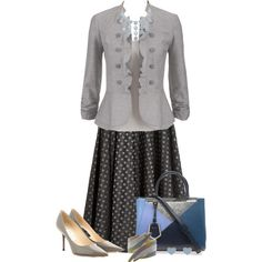 A fashion look from June 2014 featuring Miu Miu skirts, Jimmy Choo pumps and Fendi shoulder bags. Browse and shop related looks.