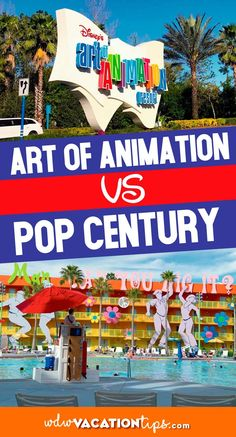 In today's article, we provide an extensive review of both Disney's Art of Animation and Pop Century Resort to help you determine the best hotel for you and your loved ones. Let's jump into the magic, shall we? Disney Resort Hotels, Disney World Hotels, Walt Disney World Vacations, Disney Parks, Disney Secrets, Disney Tips, Disney Fun, Disney Stuff, Florida Resorts