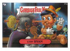 #LyinRyan Garbage Pail Kids