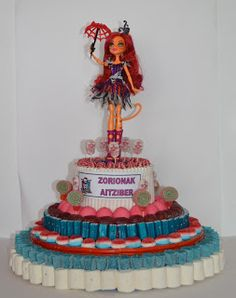 Tartas de Chuches Pamplona : Monster High de Chuches