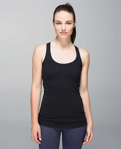 A fresh take on an old favourite, this do-it-all tank is yoga-, gym- and run-friendly. The curved hem and wide racerback straps help to keep us covered and the sweat-wicking fabric helps to keep us cool. Turns out, you can have it all. Camisole, Hard Workout, Workout Gear, Workouts, Running Jacket, Athletic Outfits, Facon, Mom Style, Lululemon Athletica