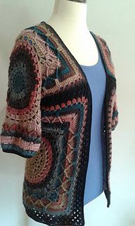 The lovely vest pattern by Gea Crea design
