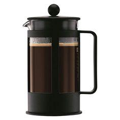 Bodum Kenya 8 kops Cafetiere 1 L - Zwart