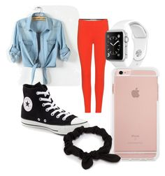 """""""Untitled #6"""" by hndrxx ❤ liked on Polyvore featuring Emilio Pucci, Converse and NLY Accessories"""