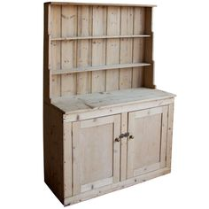 1stdibs Victorian Irish Pine Dresser