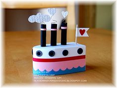 """love boat"" Designed by Heather Klump"