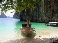 Strand i Krabi, Thailand