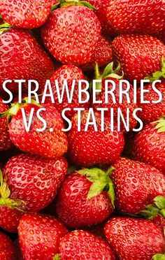 Strawberries are nature's sweet answer to your Cholesterol woes, and Dr Oz shared a study that found they can help you to lower LDL Cholesterol counts. http://www.recapo.com/dr-oz/dr-oz-natural-remedies/dr-oz-strawberry-serving-size-lower-ldl-cholesterol-vs-statins/