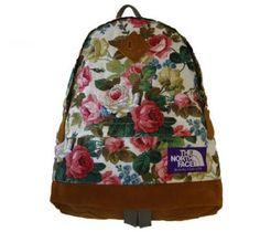 NORTHFACE Floral backpacks