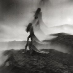 Dutch photographer Nona Limmen is based in Amsterdam, but her marvelous analog photos capture visions of a vast, mystical world nebulously bordering our own. This mysterious land, woven of dreams a… Blur Photography, Portrait Photography, Mysterious Photography, Gothic Photography, Halloween Photography, Multiple Exposure, Double Exposure, Long Exposure, Mystical World