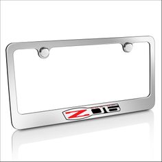 Dodge Chrome Brass License Plate Frame: This one stylish license frame features engraved OEM style logo, nameplate. Brand new official licensed product.