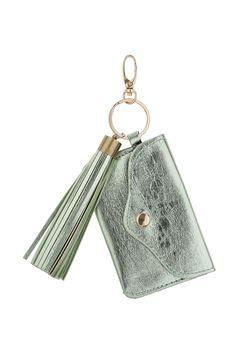 TOPSHOP Metallic Leather Look Purse Keyring £8.50