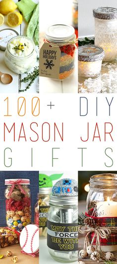 Are you looking for some fun ideas for Hand Made Gifts?  Well then I think you are going to love Today's Collection of 100+ DIY Mason Jar Gifts.  There is something for everyone here from a Spa Day in a Jar …DIY Playdough…Yummy Foods…Coffee and Tea Lover Delights…All kinds of Scrubs… A Mini Bar in …