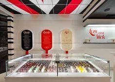 """Red Satin"" a wild blackberry ice cream @ Bardot Bars ice cream shop -   1025 Prospect Street,  La Jolla CA 92037  (858) 456-1625"