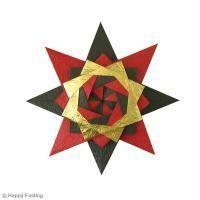 DIY Origami étoile Noël (vidéo) Noël est signe de féerie et de magie, alors pourquoi ne pas parsemer votre intérieur, de paillettes et d'étoiles origami pour célébrer les fêtes de fin d'année !
