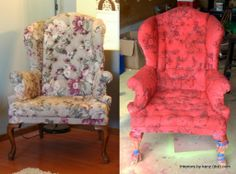 Fabric Spray Paint Does NOT Work On Patterned Upholstery. Other Tips U0026  Tricks On Fabric