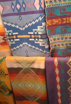 Camp blankets (some Pendletons?)