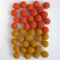 Felted Wool Bead 40 Piece Color Packs- Orange & Yellow Giftsland http://www.amazon.com/dp/B00CBXVGBG/ref=cm_sw_r_pi_dp_tU3Bub1Z92KT5