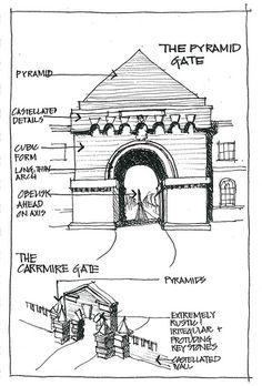 Archive 2000_ Castle Howard Gates