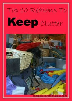 Top 10 reasons to KEEP clutter.  #finance #money #savemoney #moneytips  http://moneybulldog.co.uk/