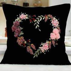 Wonderful Ribbon Embroidery Flowers by Hand Ideas. Enchanting Ribbon Embroidery Flowers by Hand Ideas. Hand Embroidery Patterns Flowers, Ribbon Embroidery Tutorial, Silk Ribbon Embroidery, Hand Embroidery Designs, Beaded Embroidery, Embroidery Stitches, Embroidery Applique, Ribbon Art, Ribbon Crafts