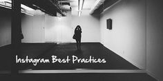 Instagram Best Practices and why some #bigbrands are lacking.