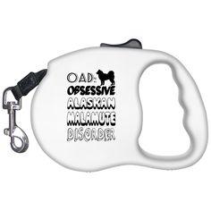 OAD Obsessive Alaskan Malamute Disorder Retractable Dog Leashes