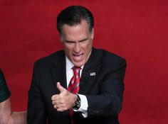 Romney rides off into the sunset, as big a dick as always