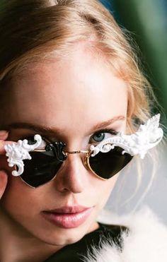 Nylon features Mercura Baroque Heart Sunglasses in Nylon Singapore December 2014 Photography by: Hiu Zhi Wei Styling: Shawna Wux