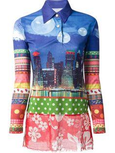 Walter Van Beirendonck Vintage 'w.&.l.t' Printed Shirt