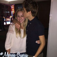 Chloe and her boyfriend Ricky Garcia from the new show Best Friends Whenever