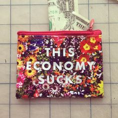 One of my favorite Blue Q pouches because doesn't this just speak the truth!