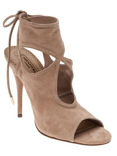 AQUAZZURA - Sexy thing cut out bootie 5