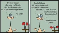 Shermish - Gockel Glass - Ist wohl ein Feature