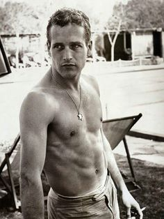 Paul Newman- my fellow Aquarian and absolutely gorgeous man. When I say that i don't mean just physically.