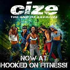 #CizeLive at the #HookedOnFitness Studio is professional dance for everyday people! This isn't one of those dance-lite workouts where you shuffle your feet to the beat. Created by Shaun T world famous choreographer and fitness trainer Cize Live breaks down professionally choreographed routines step-by-step. Before you know it you'll be bustin' out moves to the hottest new music. It's so fun you'll forget you're working out! Whether you're a beginner or an experienced dancer Cize Live will be…