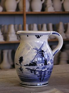 delft pottery | Delft Pottery, Dutch Village, Holland | Flickr - Photo Sharing!