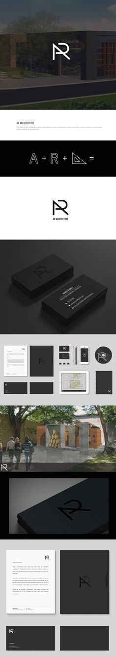 Personal Branding of an architecture that uses creativity to solve problems through communication.