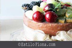 Un pastel para decorar.