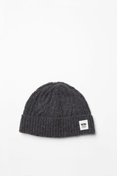 Wood Wood Cable Beanie via PLUS PAST. #woodwood #beanie #menswear