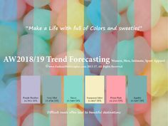 Judith Ng - AW2018/2019 Trend forecasting