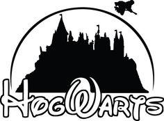 Hogwarts Harry Potter Disney School Decal Sticker