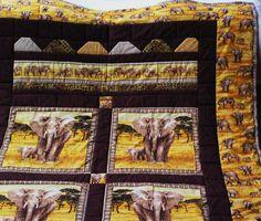 Dekoration - Afrikadecke; neu gestaltet! - ein Designerstück von meine-bunte-flickenecke bei DaWanda