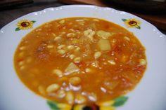 Fotorecept: Krémová cícerová polievka