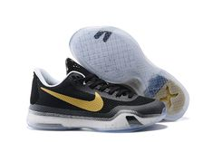 size 40 a905b c7ca2 2017 Sale New Nike Kobe 10 X 2014 Drew League Champions Black Gold Cheap  2016-