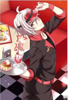 Tenn Kujo (Order Please) Anime Boys, Hot Anime Boy, Manga Boy, Cute Anime Guys, Anime Manga, Anime Art, Vampire Knight, Beyblade Characters, Anime Characters