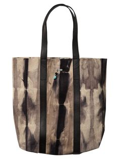 Tie-dye leather shopper bag | Scotch & Soda