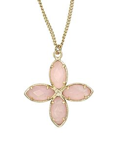 Thandi Pendant Necklace in Rose - Kendra Scott Jewelry